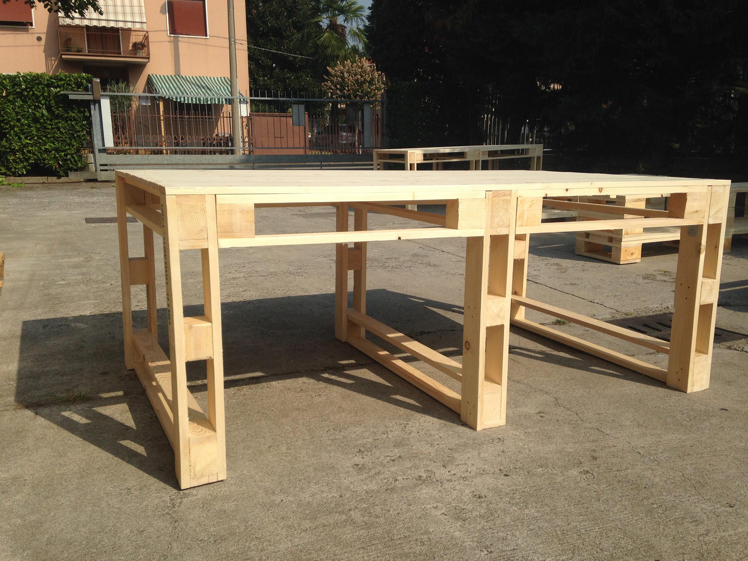 Mobili Da Giardino Con Pallet : Tavolo con pallet. come costruire un tavolo con pallet levigare a