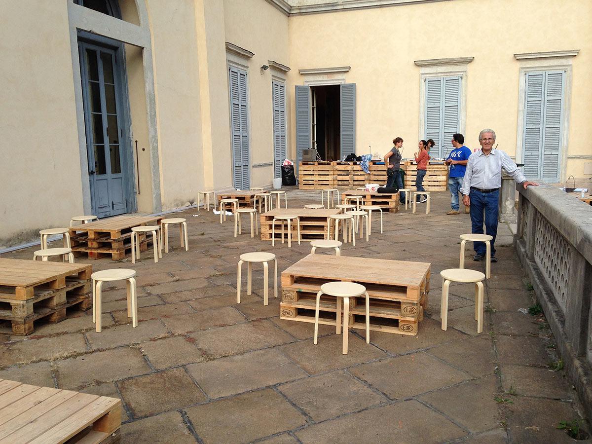 Mobili Con Pallets : Pallet in abete per arredamento orto urbano