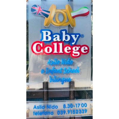 Baby College Monza asilo nido bilingue