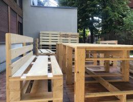 panchine e tavoli per esterno asilo nido