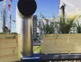 """Orto Urbano """"Sumisura"""" per allestire un terrazzo"""